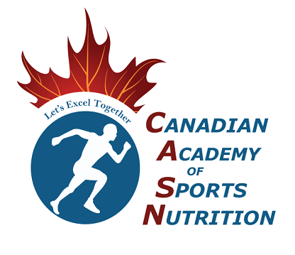 About us logo Canadian Academy of Sports Nutrition caasn