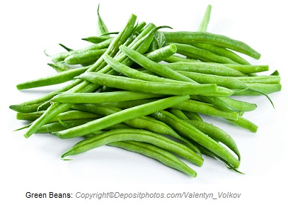Green beans. Canadian Academy of Sports Nutrition