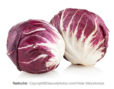 Radicchio. Canadian Academy of Sports Nutrition