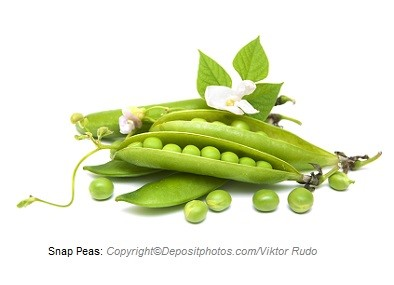 Snap peas. Canadian Academy of Sports Nutrition