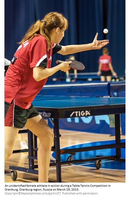 Table Tennis 1 Canadian Academy of Sports Nutrition caasn