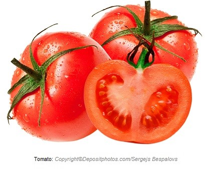 Tomato. Canadian Academy of Sports Nutrition