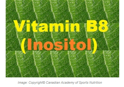 Vitamin B8 1 Canadian Academy of Sports Nutrition