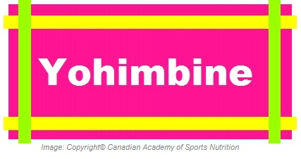 Yohimbine 1 Canadian Academy of Sports Nutrition caasn